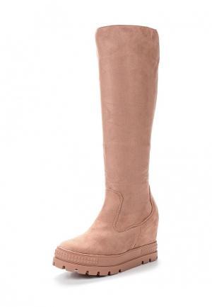 Сапоги Ideal Shoes. Цвет: розовый