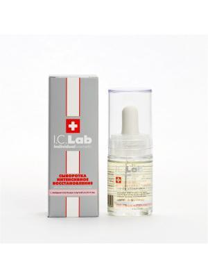 Сыворотка Интенсивное восстановление I.C.Lab Individual cosmetic. Цвет: серебристый, белый, красный