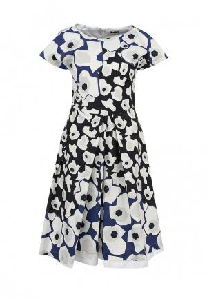 Платье Jil Sander Navy. Цвет: разноцветный