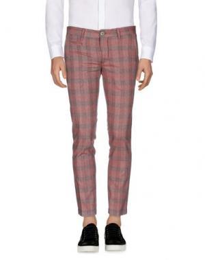 Повседневные брюки HARRY & SONS. Цвет: красно-коричневый