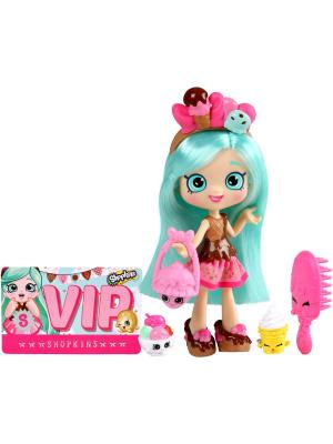 Кукла Shopkins Пеппа-Минт с аксессуарами Moose. Цвет: розовый