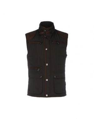 Куртка FORECAST. Цвет: темно-коричневый