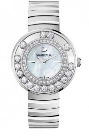 Наручные часы Lovely Crystals Swarovski. Цвет: серебряный