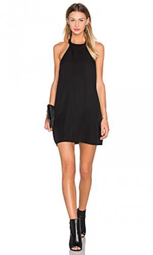 Платье dont turn back NBD. Цвет: черный
