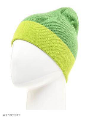 Шапка Ziener. Цвет: зеленый