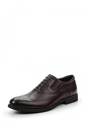 Туфли Zenden Collection. Цвет: коричневый