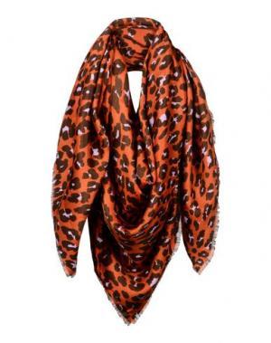 Платок DIOR. Цвет: ржаво-коричневый