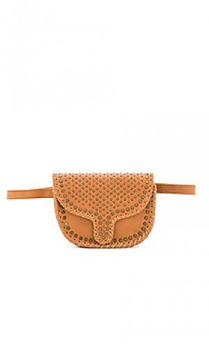 Поясная сумка everston Cleobella. Цвет: цвет загара
