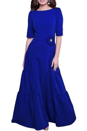 Платье Olivegrey. Цвет: ультрамарин