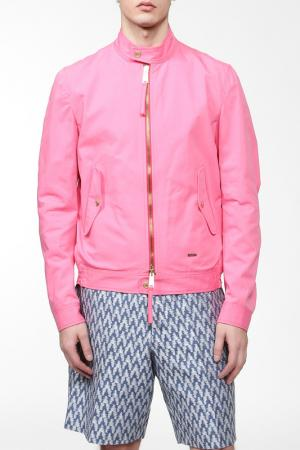 Куртка DSquared2. Цвет: розовый