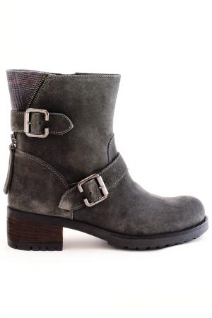 Ботинки Elena. Цвет: серый