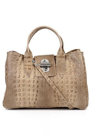 Сумка Pitti bags. Цвет: коричневый