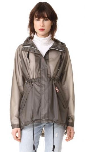 Пальто Original Smock Hunter Boots. Цвет: темный синевато-серый
