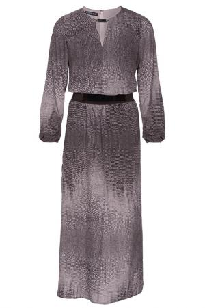 Платье Apart. Цвет: серо-коричневый