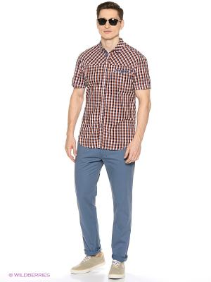 Рубашка Reserved. Цвет: коричневый