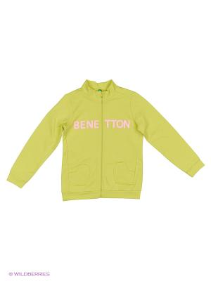 Толстовка United Colors of Benetton. Цвет: хаки, бежевый, бронзовый