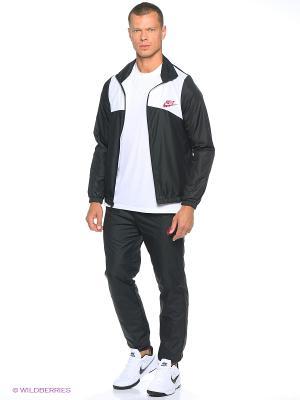 Спортивный костюм M NSW TRK SUIT WVN HALFTIME Nike. Цвет: черный, белый