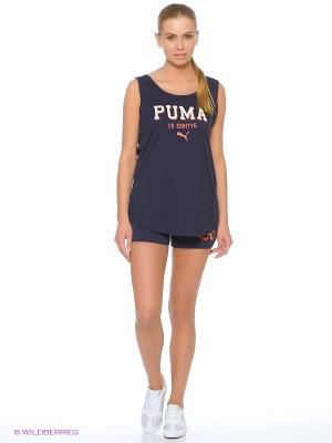 Шорты STYLE ATHL Shorts W Puma. Цвет: синий