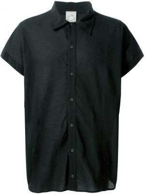 Рубашка с короткими рукавами Jan Van Essche. Цвет: чёрный