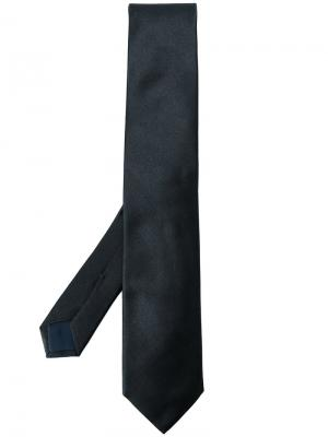 Классический галстук Corneliani. Цвет: чёрный