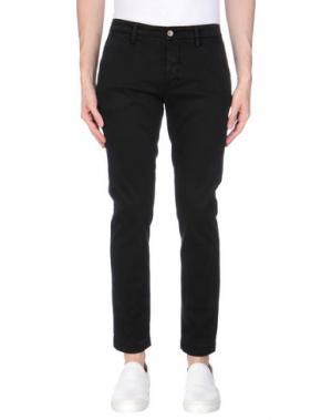 Повседневные брюки TELERIA ZED. Цвет: черный