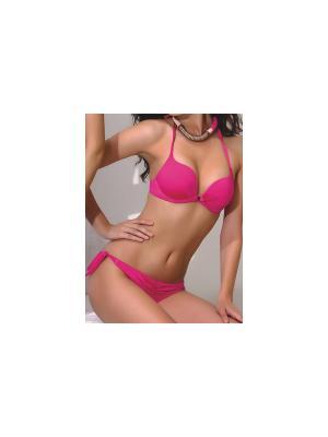 Купальный костюм Jolidon. Цвет: розовый