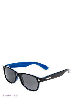 Солнцезащитные очки Mascotte. Цвет: черный, синий