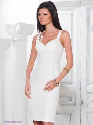 Платье Fairly. Цвет: белый