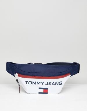 Tommy Jeans Сумка-кошелек на пояс в стиле 90-х Capsule 5.0. Цвет: мульти