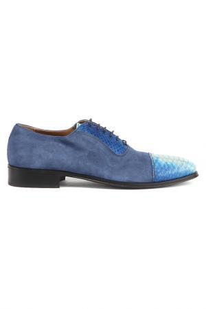 Туфли Bouton. Цвет: синий