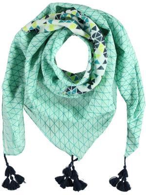 Платок шейный Passigatti. Цвет: зеленый