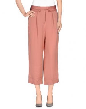 Повседневные брюки PINKO UNIQUENESS. Цвет: пастельно-розовый