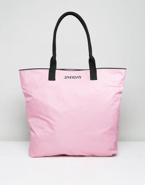 2nd Day Нейлоновая сумка 2NDDAY. Цвет: розовый