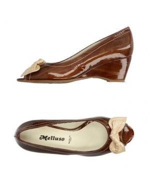 Туфли MELLUSO. Цвет: коричневый
