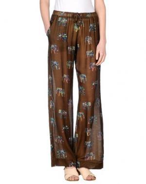 Повседневные брюки MOSAIQUE. Цвет: темно-зеленый