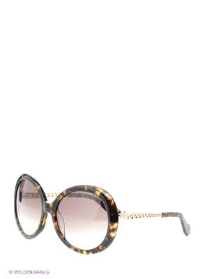 Очки солнцезащитные Vivienne Westwood. Цвет: серый, коричневый