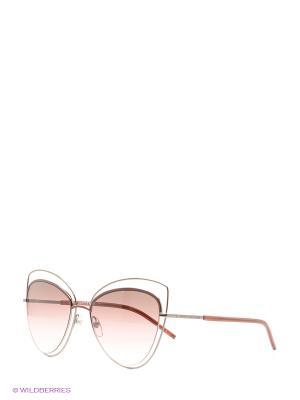 Солнцезащитные очки MARC JACOBS. Цвет: бордовый, черный