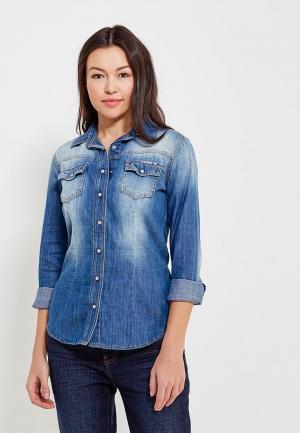 Рубашка джинсовая Met. Цвет: синий