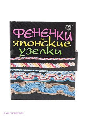 Набор Фенечки и японские узелки Мини-маэстро. Цвет: синий, красный, белый