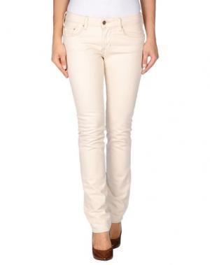 Джинсовые брюки POLO JEANS COMPANY. Цвет: бежевый