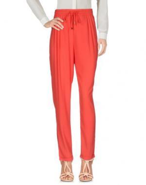 Повседневные брюки MOLLY BRACKEN. Цвет: красный