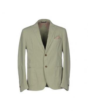 Пиджак B SETTECENTO. Цвет: светло-зеленый