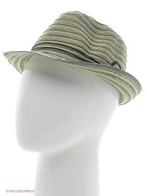 Шляпа Ваша Шляпка. Цвет: серый, салатовый