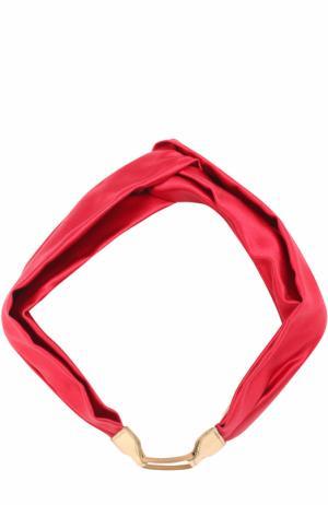 Повязка для волос Jennifer Behr. Цвет: красный