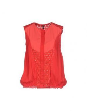Pубашка HIGH. Цвет: красный