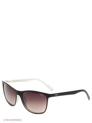 Солнцезащитные очки Legna. Цвет: коричневый, белый