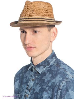 Шляпа Mascotte. Цвет: светло-коричневый
