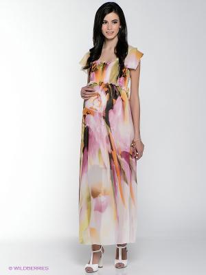Платье MARY MEA. Цвет: розовый