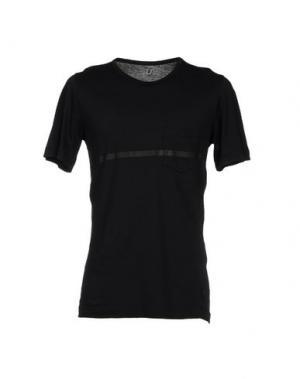 Футболка U CLOTHING. Цвет: черный