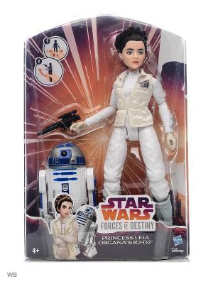 Игровой набор модная кукла Звездные войны с дроидом Star Wars. Цвет: белый